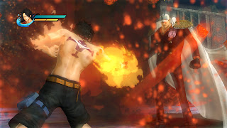 One Piece Pirate Warriors Gamescom Gameplay Screenshots Fleet Admiral Sakazuki Ace Akainu