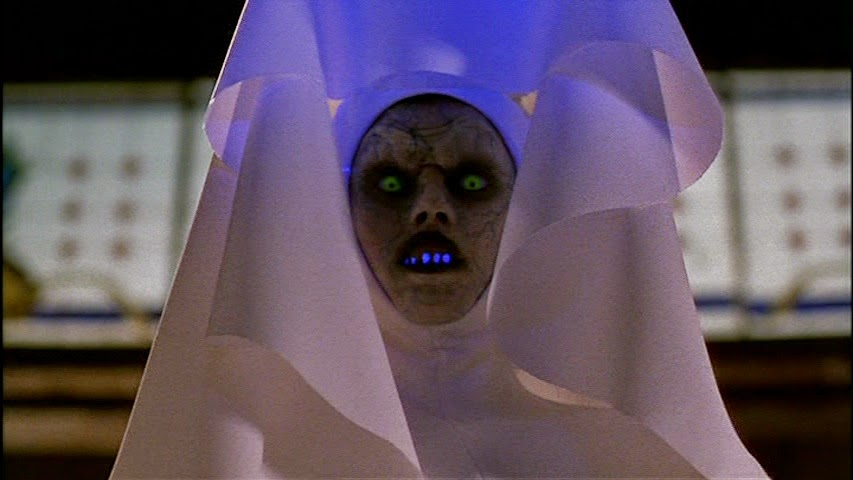 A demon gets back in the habit in Mike Mendez's The Convent (2000)