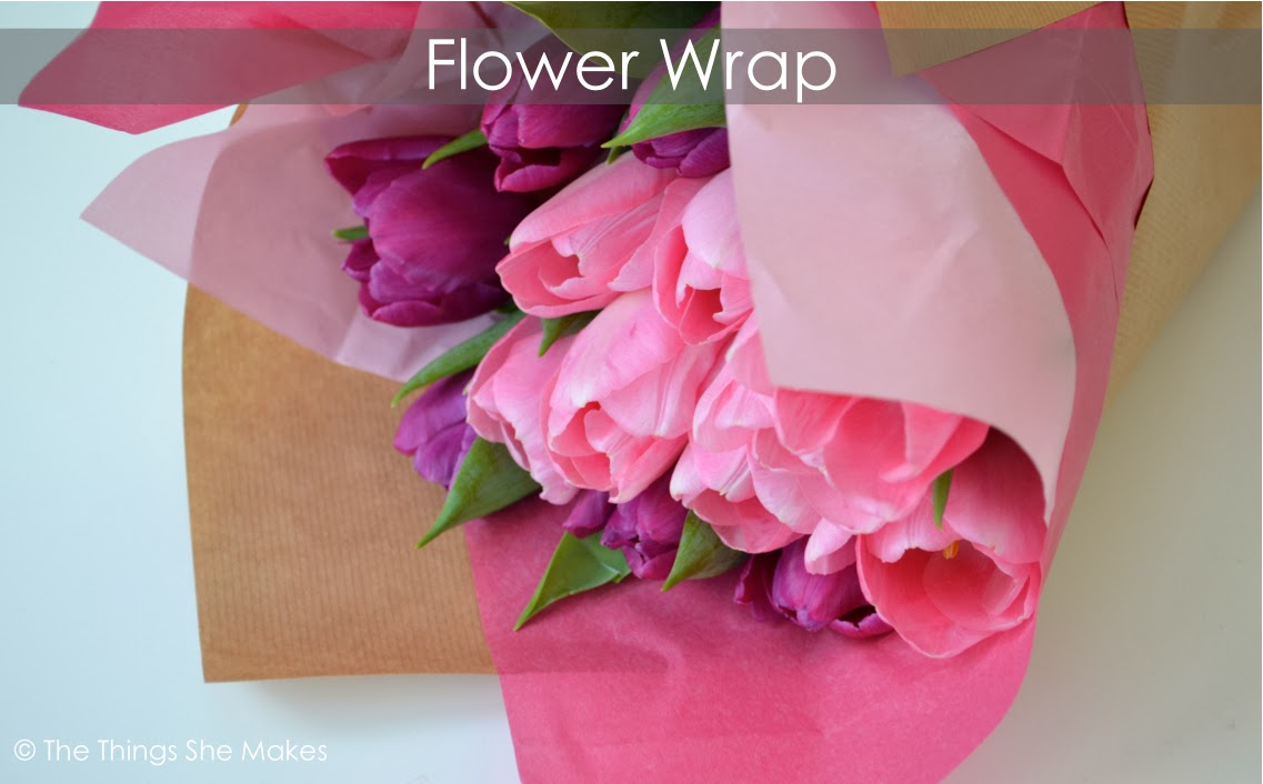 how to wrap flowers with tissue paper If you want to add a stem to your paper flower, wrap a green pipe cleaner around the staple at this time using scissors, cut the edges into rounded petal shapes you can also cut different shapes to make different styles of flowers.