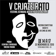 V CAJAZEIRATO - FETIVAL ESTADUAL DE TEATRO DE CAJAZEIRAS. EM NOVEMBRO, DE 14 A 17