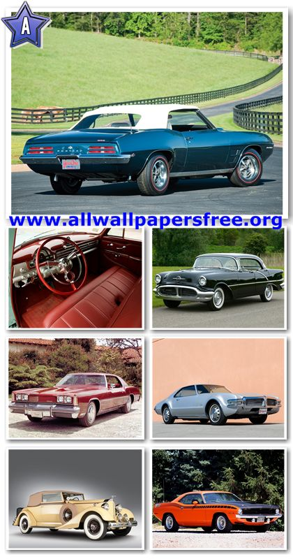 80 Amazing American Classic Cars Wallpapers 1280 X 1024 [Set 18]