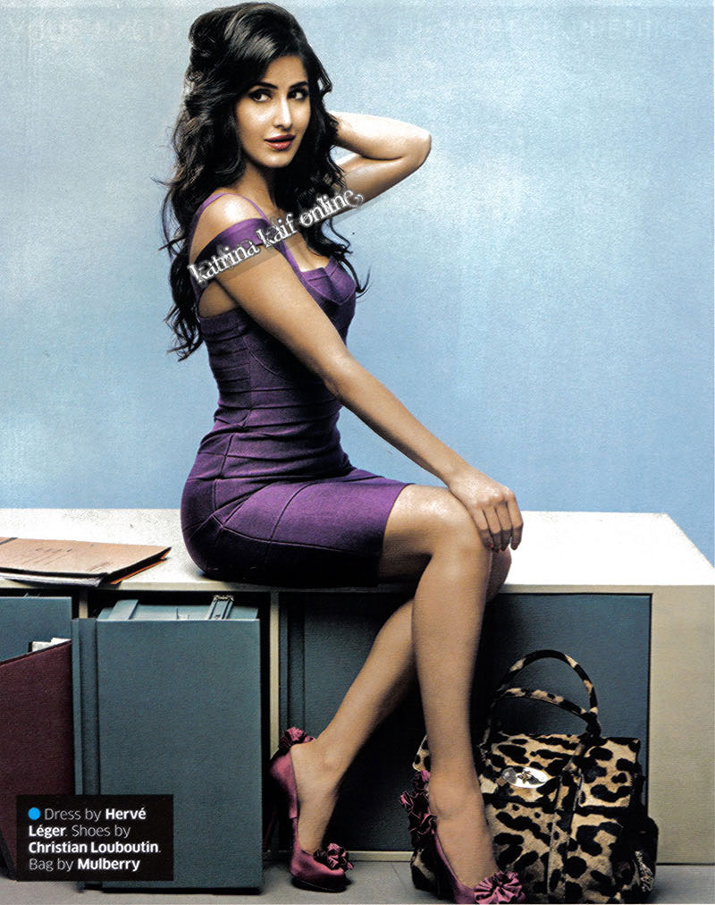 Katrina Kaif in purple dress - Katrina Kaif in Hot Purple Dress - Scan