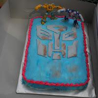 Transformers Autobot Symbol Cake