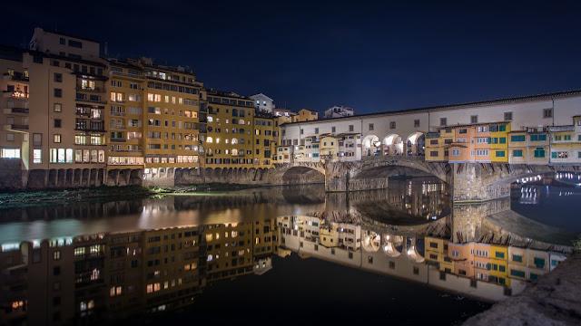 Ponte Vecchio :: Canon EOS5D MkIII | ISO100 | Canon 17-40@23mm | f/11 | 30s