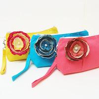 Handmade Bridal Clutches