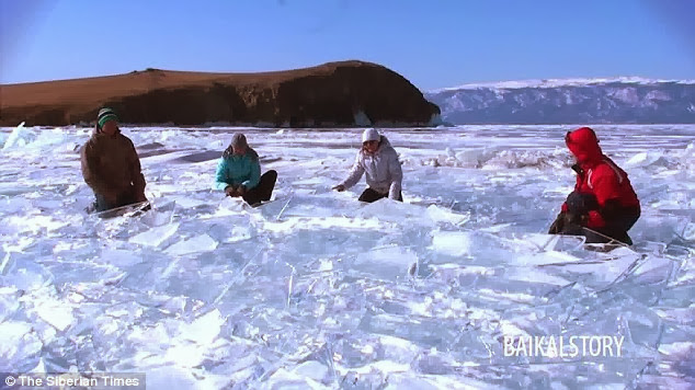 Siberian Ice Drummers Use Frozen Lake