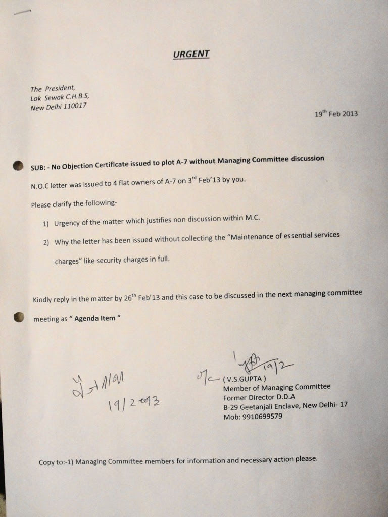 noc letter format%0A Geetanjali Enclave Residents Favoritism To Plot A   To Provide DSC       Favoritism At Besthtml What Is Noc Certificate What Is Noc Certificate