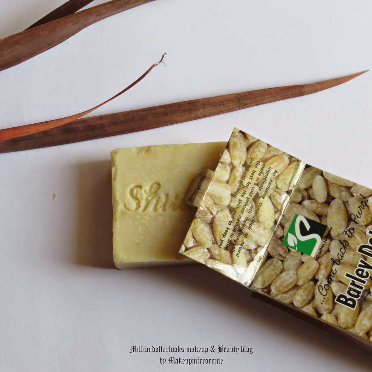 Shudhvi Naturals Barley Detan Handmade Hand Cut Soap Review, Pictures & Price in India, Best soap to clear tan, Tan removal, How to remove tan from body, Best handmade herbal soaps available in India, Shudhvi naturals review, Shudhvi Naturals Handmade soaps range review, Indian makeup and beauty blog, indian beauty blogger, Indian beauty blog