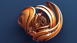 Abstract 3D Desktop