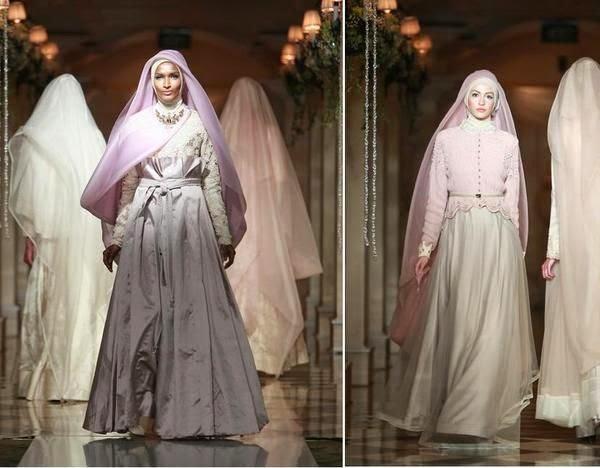 veil pengantin muslimah