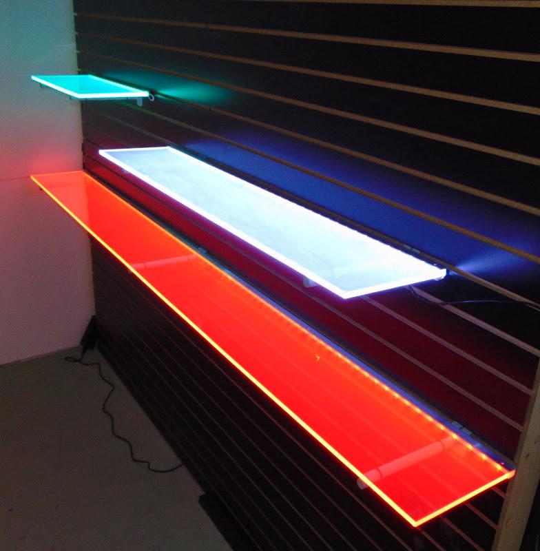 Light-Up Shelves