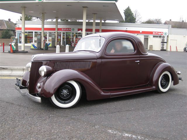 Rodcitygarage for 1936 ford 3 window