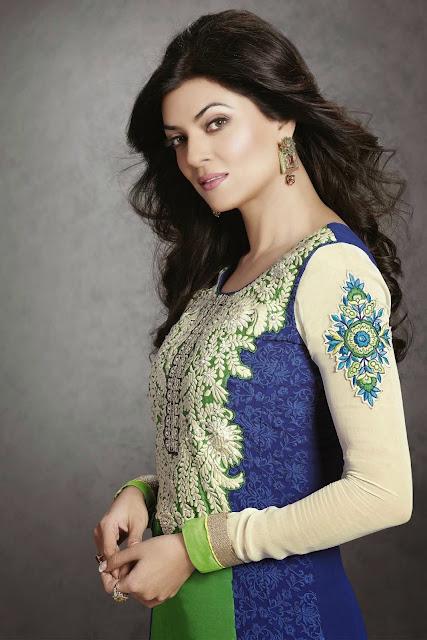Modelling images of Sushmita Sen in suit