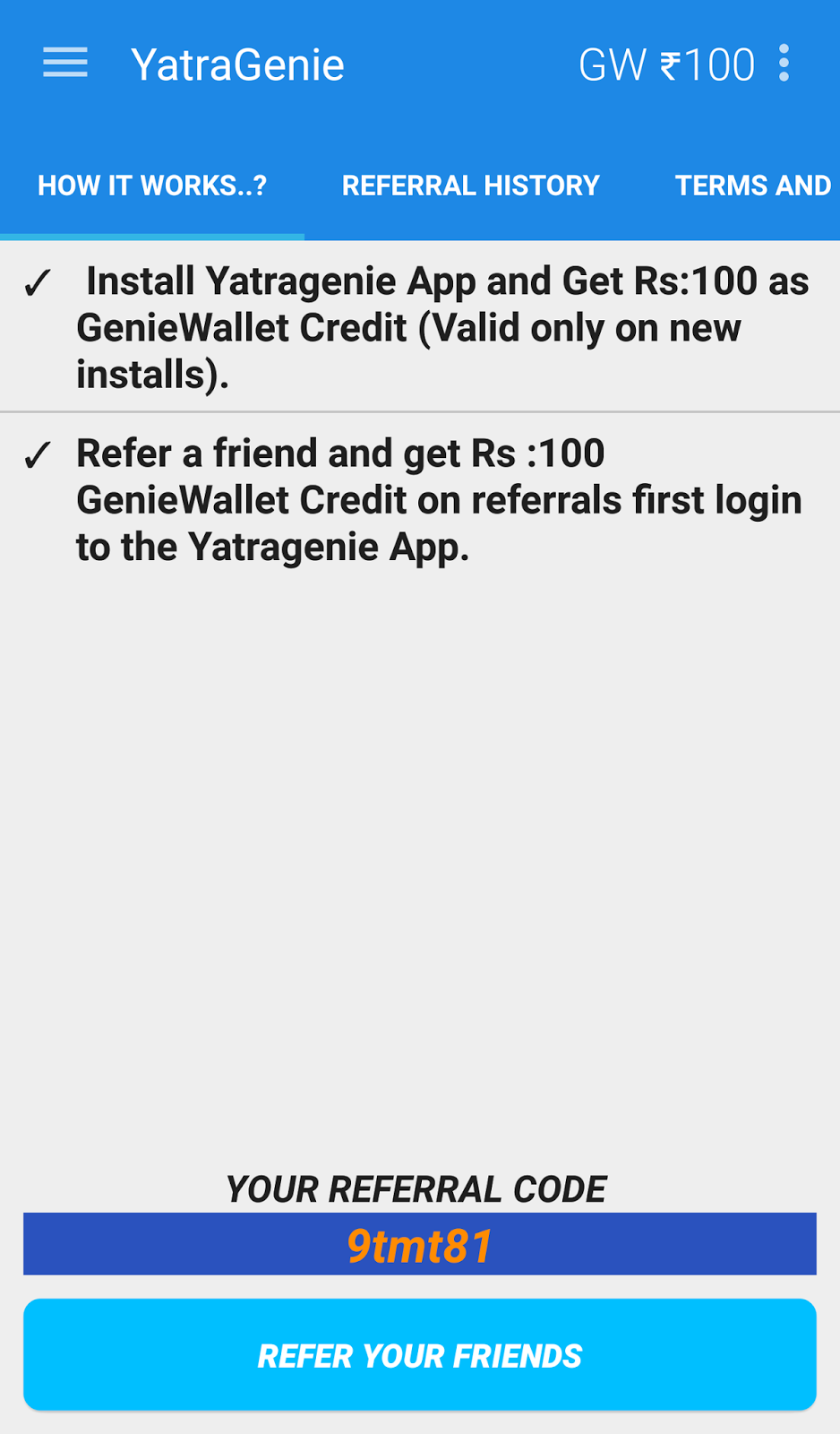 Yatragenie coupons today
