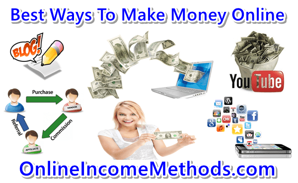 Top ten ways to make money online quick