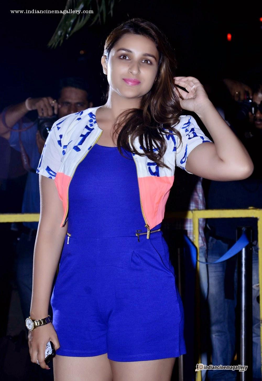 parineeti chopra blue shorts