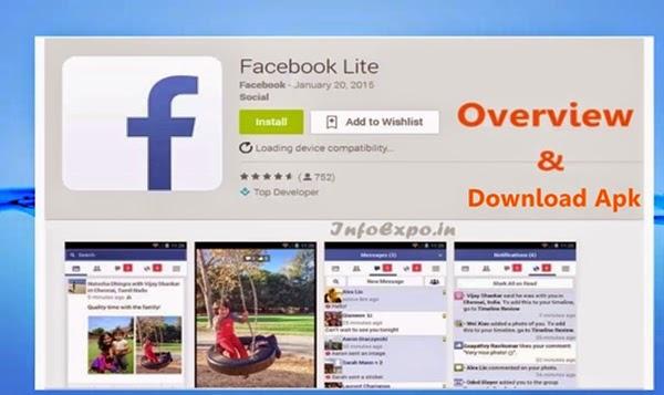 Simple Facebook Android App - Facebook Lite.apk downloads