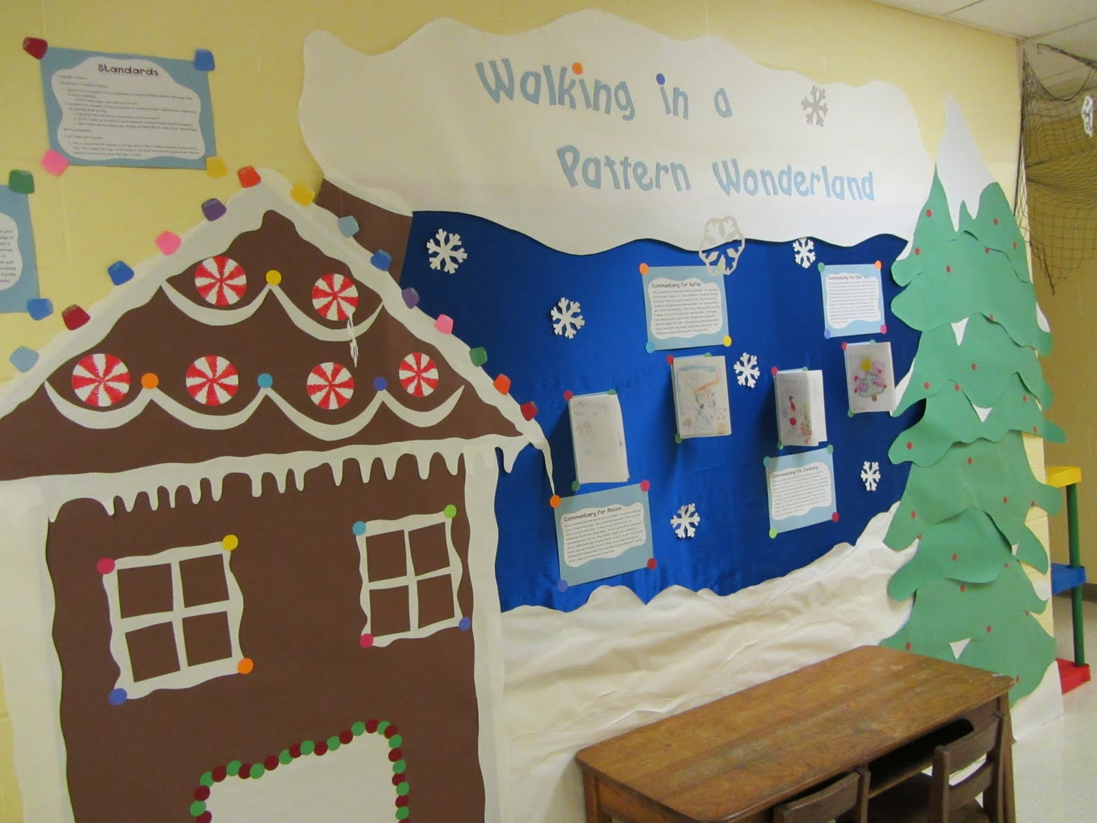 The most popular bulletin boards in kindergarten this month feature