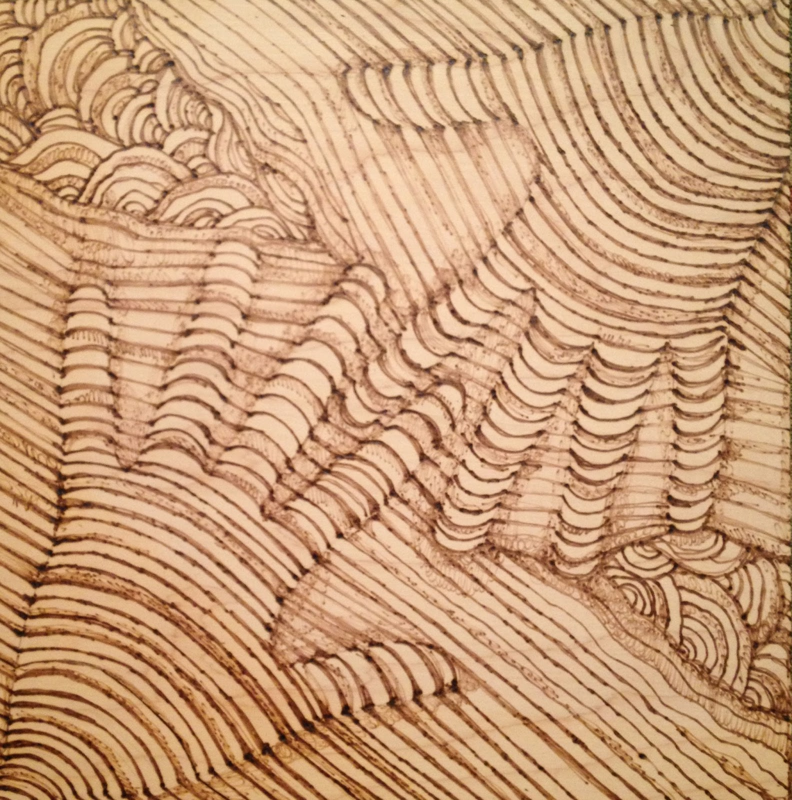 Art Therapy Spot Life Without an Eraser or Why I Love Woodburning