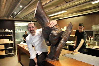 Pepe Solla en su cocina. Blog Esteban Capdevila