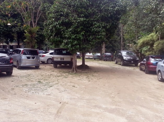 parking Restu Ibu Resort