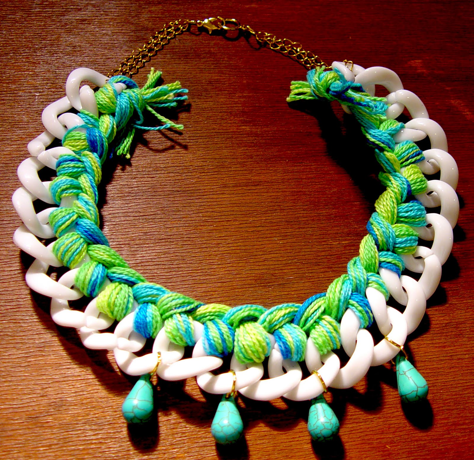 Life As Leah DIY Braided Chain Necklace REALLY AWESOME - Diy braided necklace