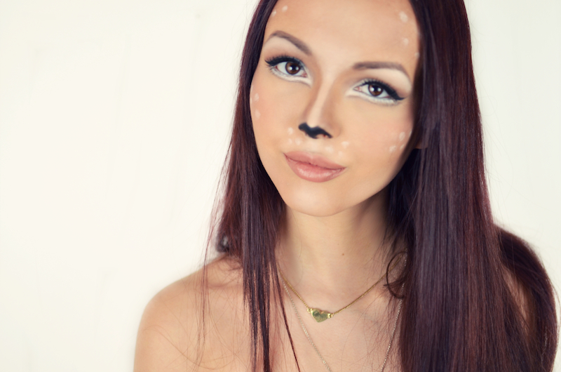 Disney_Bambi_Fasching_Karneval_Make_Up_Verkleidung_Küstüm_Reh_Hirsch