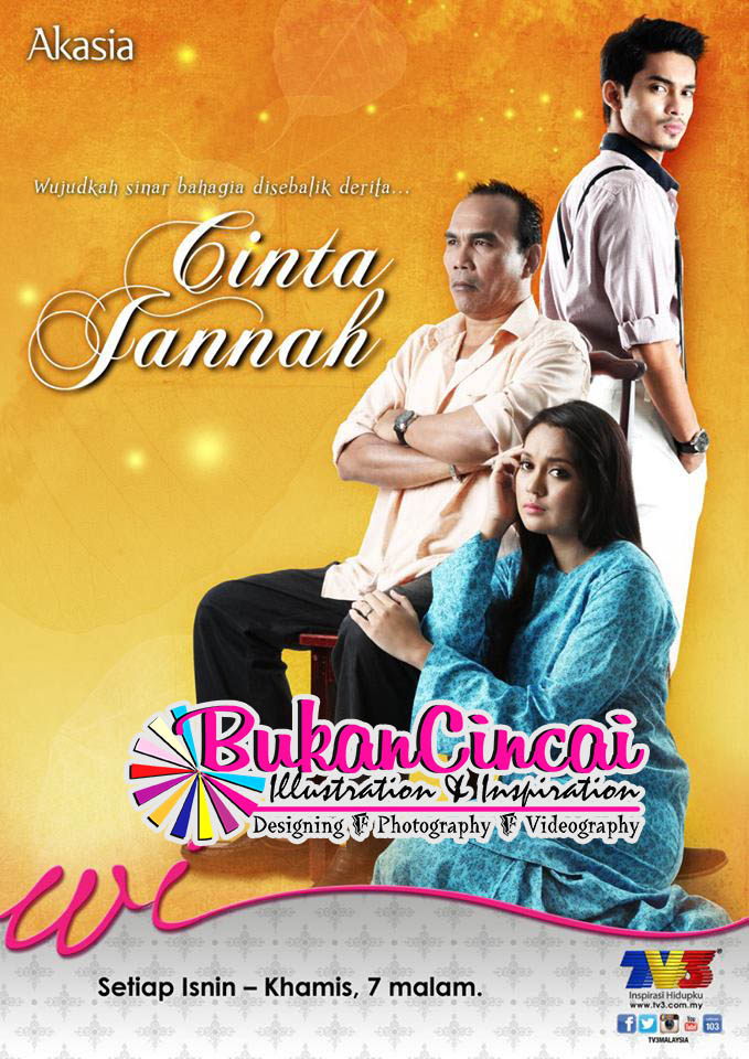 Tonton Cinta Jannah TV3 Full Episode