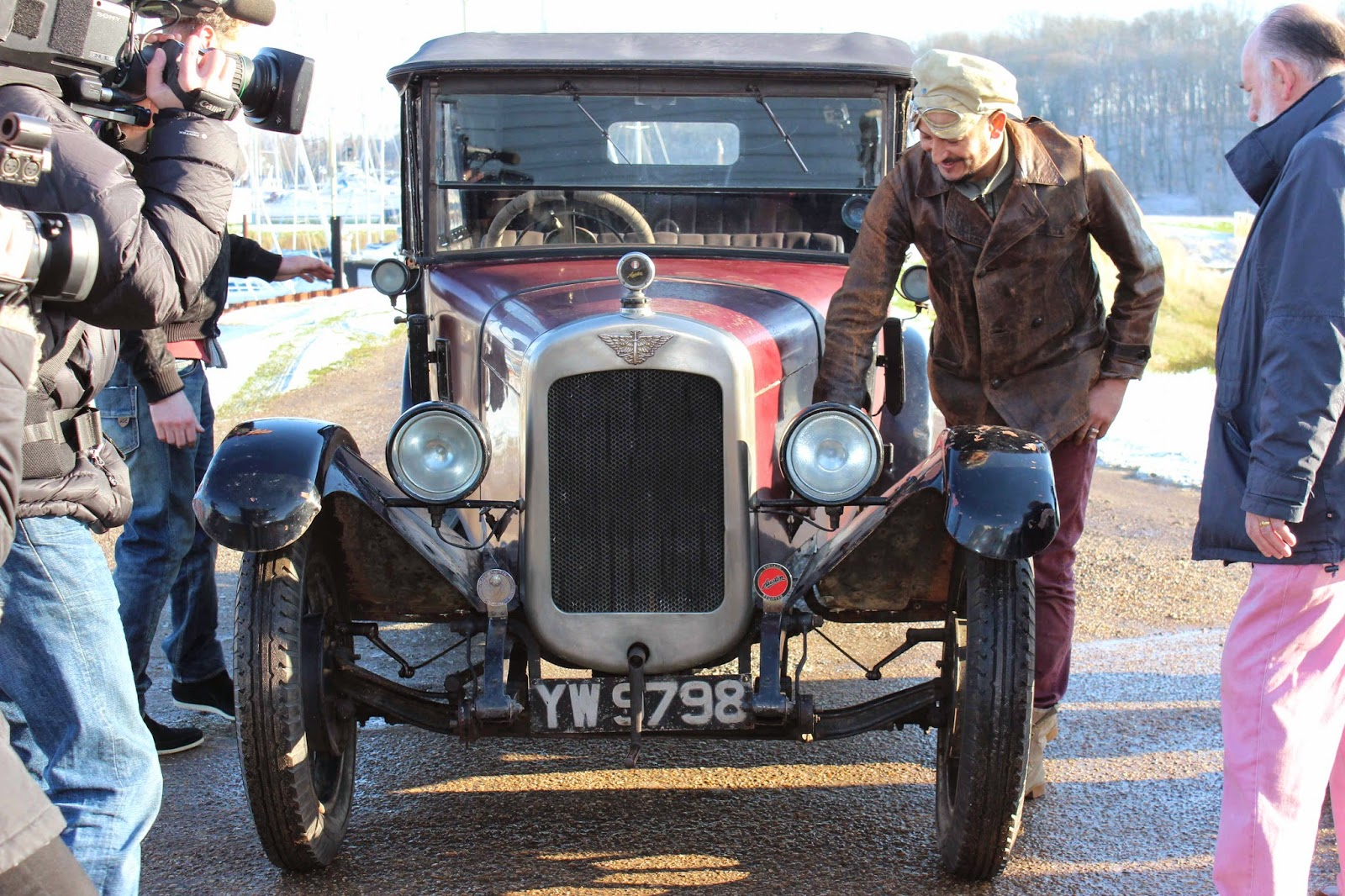 The Golden Spoke Fuzz Townshend Cohosts One Of The Most Loved - Car restoration shows