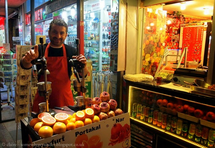 juice seller - Istanbul