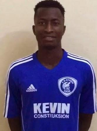 nigerian footballer peter olayinka