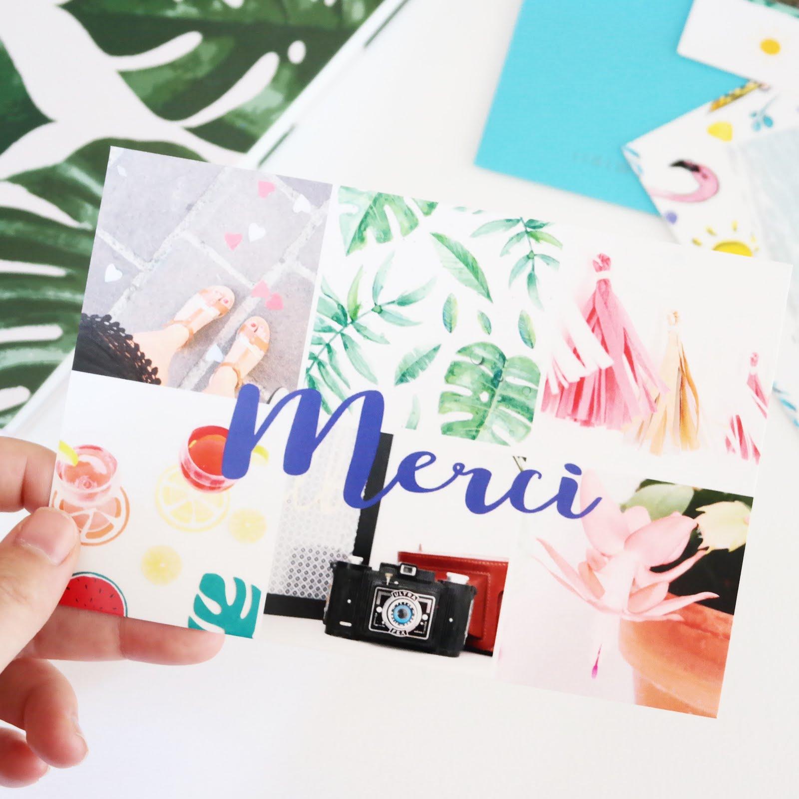 Envoyez vos cartes postales avec l'application FIZZER