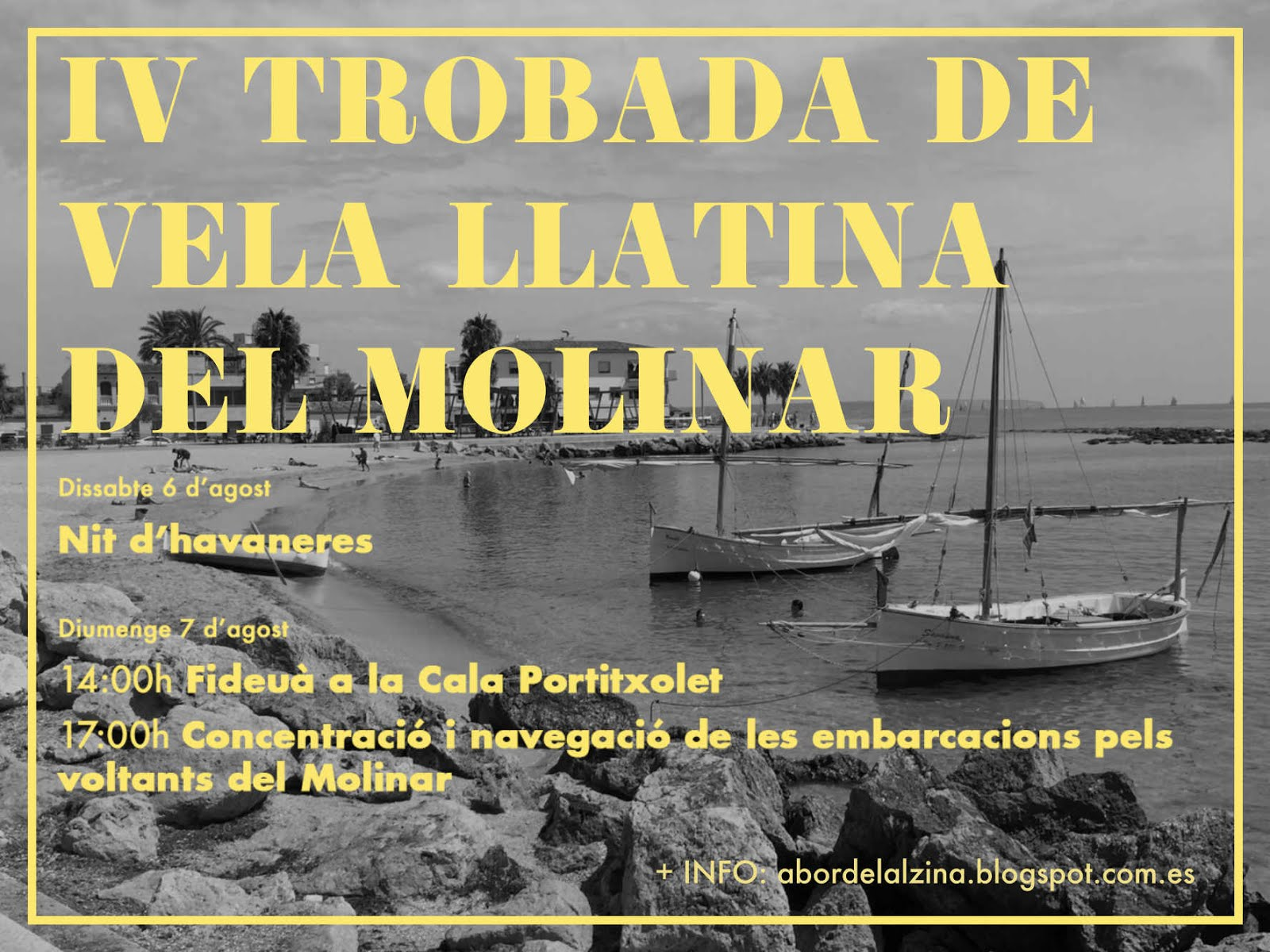 IV TROBADA DE VELA LLATINA DEL MOLINAR