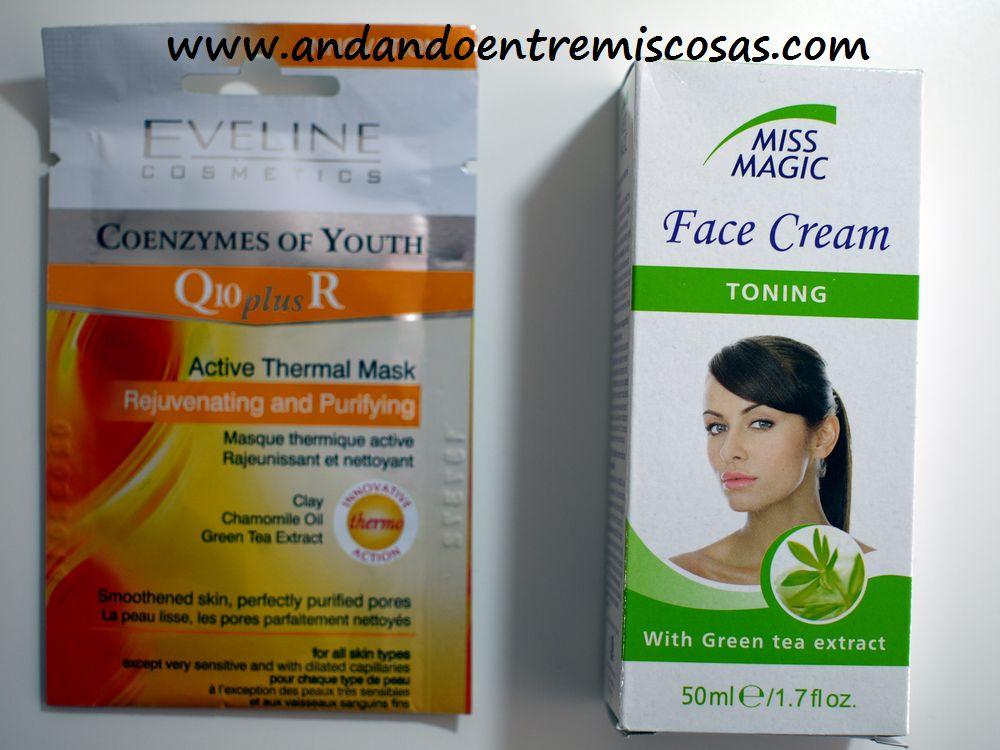 Mascarilla y crema facial