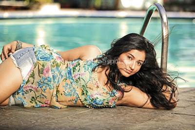 Poonam bajwa latest in swim suite