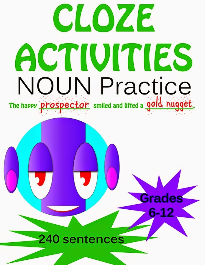 Cloze Nouns - Save $2.99!