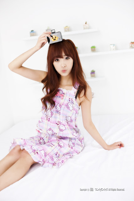 5 Minah and Hello Kitty-Very cute asian girl - girlcute4u.blogspot.com