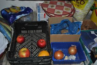 depozitare legume si fructe in camara