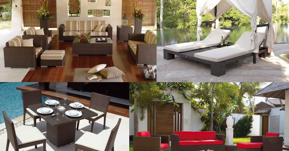 Decoraci n con muebles dise o de jard n y terrazas - Decoracion de terrazas y jardines ...