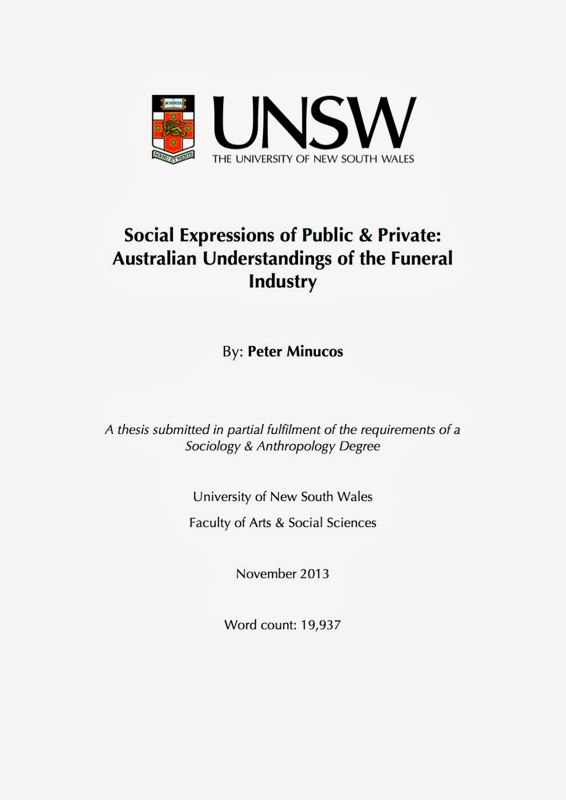 Phd thesis document