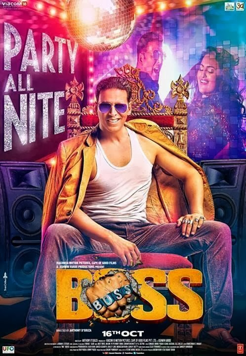 Watch Boss (2013) Hindi Full Movie HD DTH Rip Watch Online For Free Download