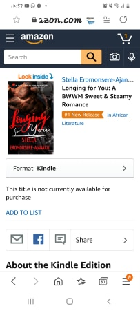 *•.¸🔥🔥 NEW RELEASE 🔥🔥*•.¸Longing for You is Amazon #1 New Release!