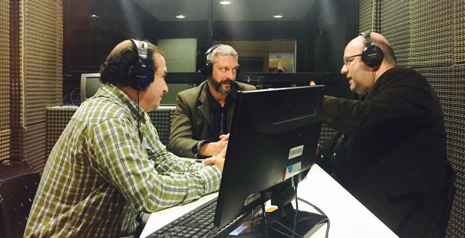 Con Marcelo Weissel y Diego Barovero