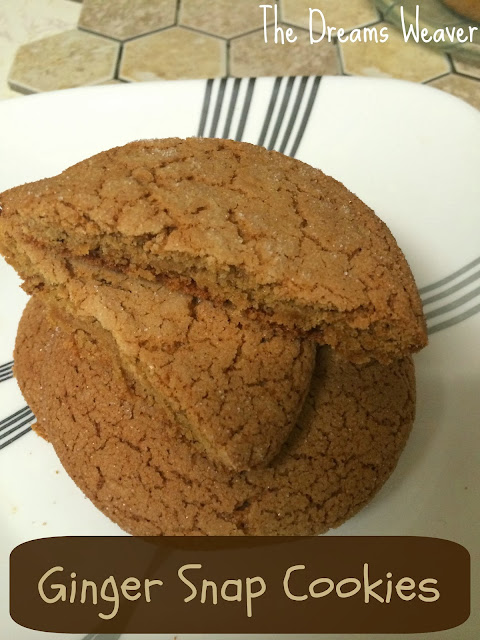 Ginger Snap Cookies~ The Dreams Weaver