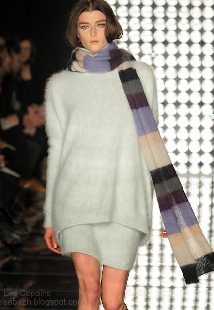 вязаное платье 2013-2014,knitted dress,Strickkleid,Les Copains