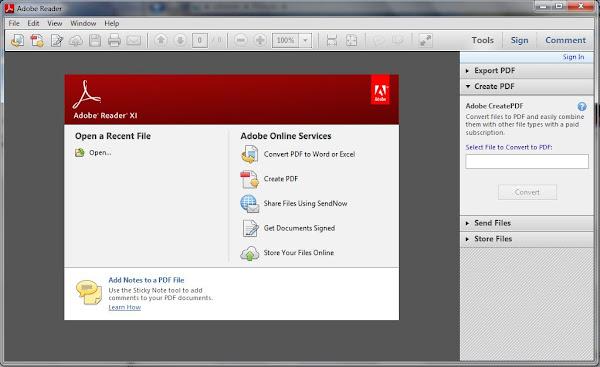 Adobe Reader PC Software
