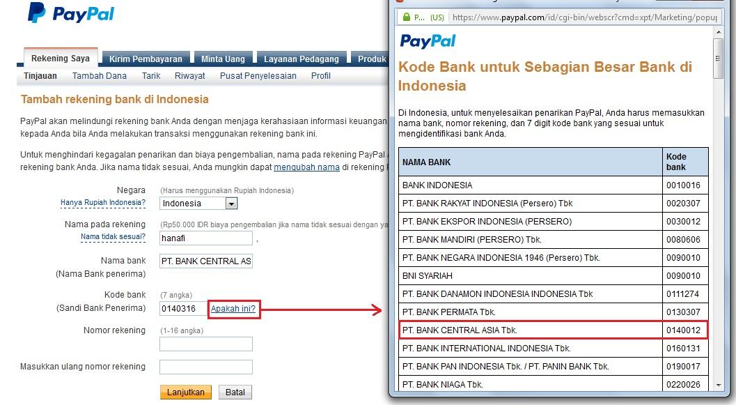 Tutorial Dan Informasi Informasi Kode Bank ...