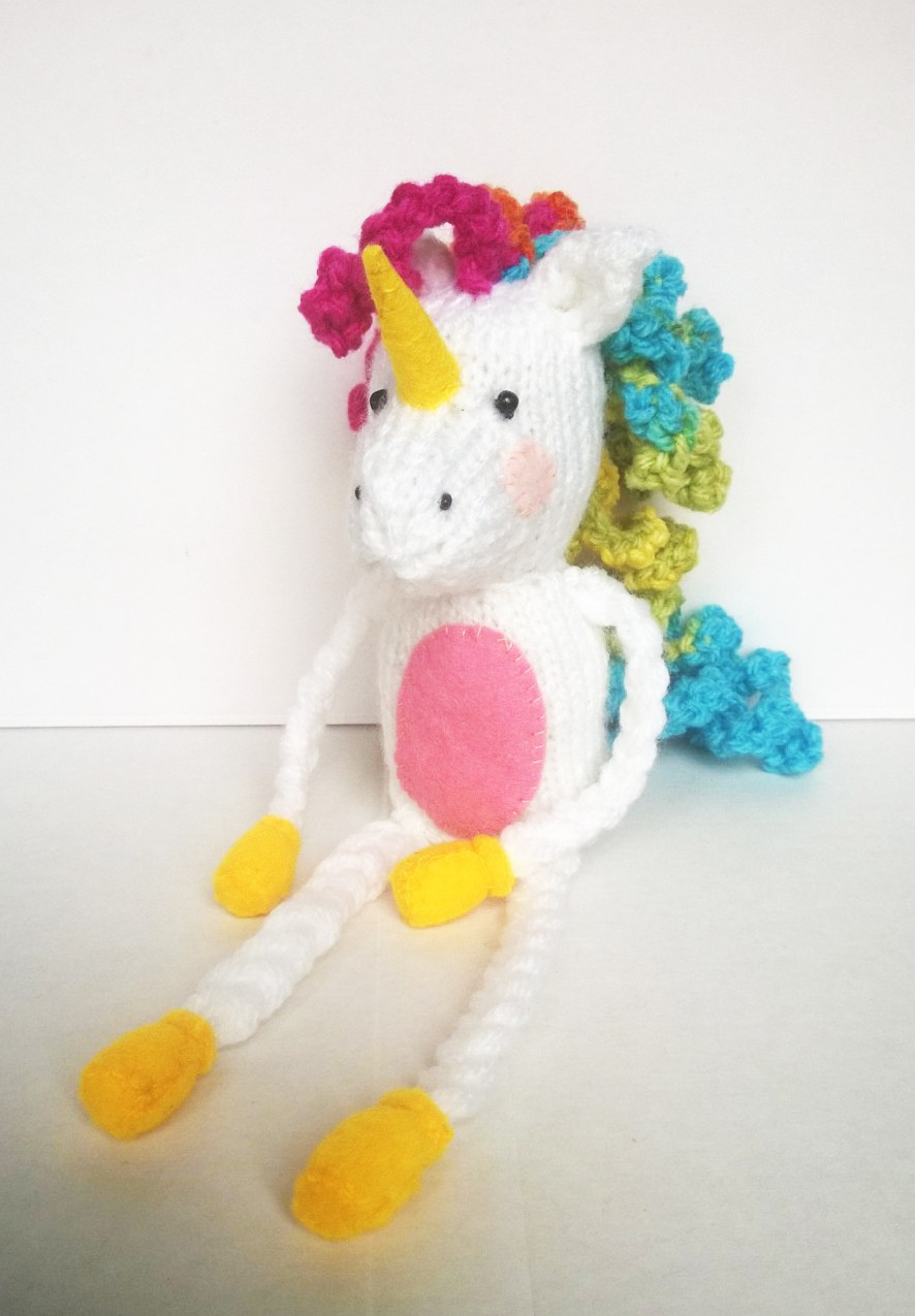 Knitting Pattern For Unicorn Toy : Liana Marcel - Keep calm and craft!: Free Lenny the ...