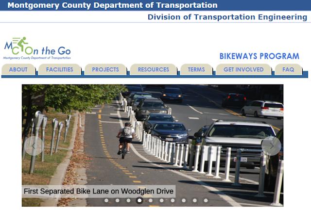 http://www.montgomerycountymd.gov/dot-dte/bikeways/index.html