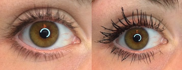 Benefit Roller Lash Before and After